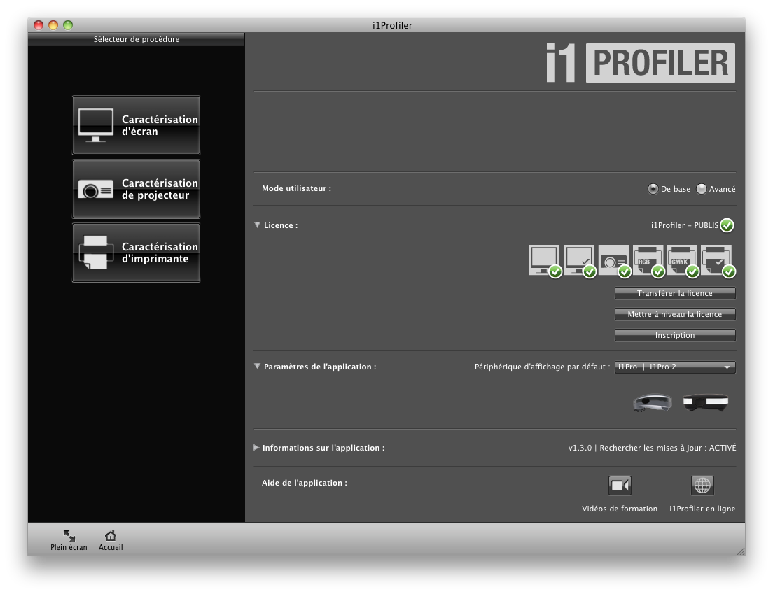 i1 Pro 2 test review calibrage gestion couleur logiciel interface