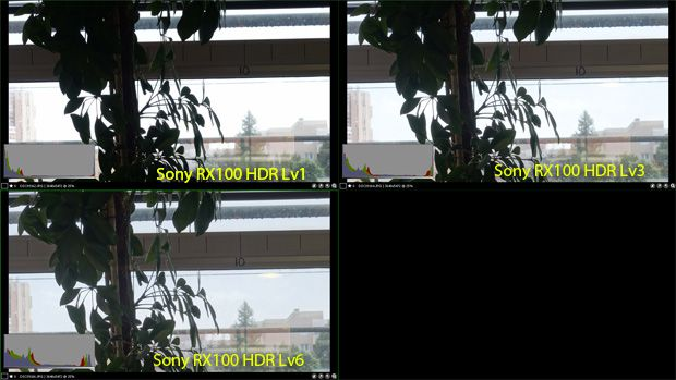 Sony RX100 test review HDR