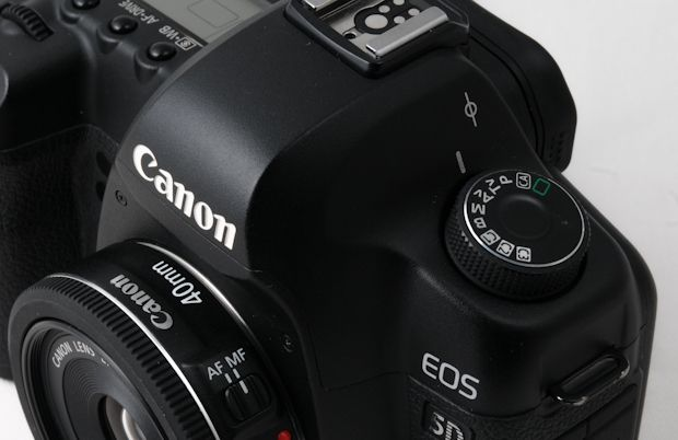 Canon EF 40 mm STM test review monté sur un 5D Mark II