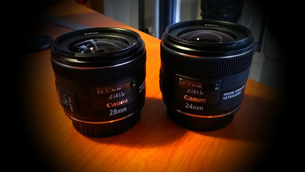 EF 24 mm / 28 mm f/2,8 IS USM