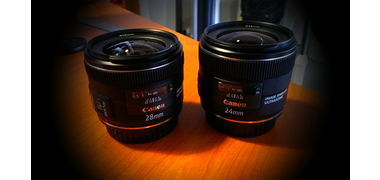 EF 24 et 28 mm f/2,8 IS USM