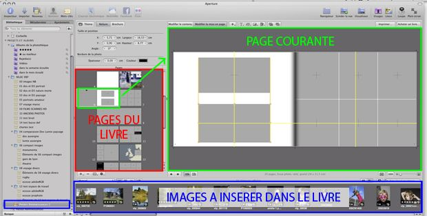 Test livre album photo Apple Aperture 28x21,5 cm logiciel (aperture)