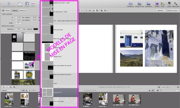 Test livre album photo Apple Aperture 28x21,5 cm logiciel (aperture