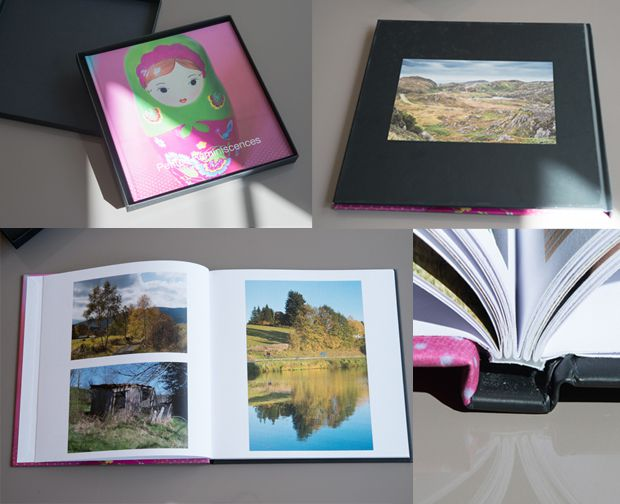 test livre album photo e-Center 21x21cm