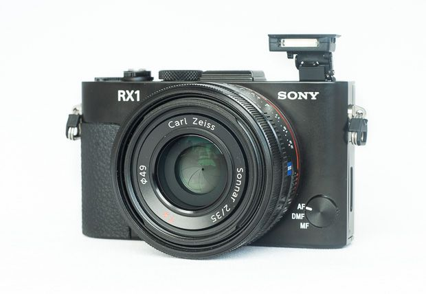 Sony RX1 test review vue avec flash