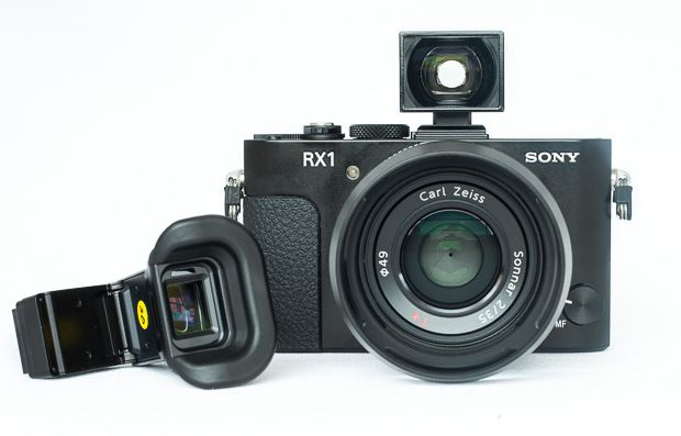 Sony RX1 test review les viseurs optionnels