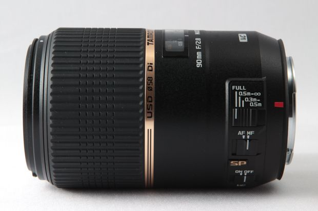 Tamron SP Di 90 mm VC USD f/2,8 test review essai