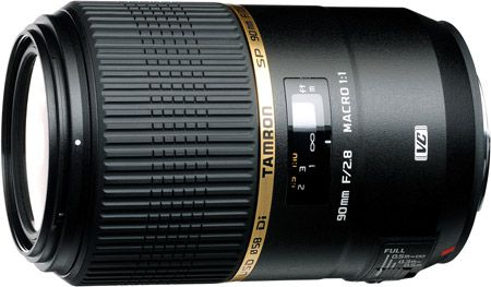 Tamron 90 mm f/2,8 VC USD Di SP test review