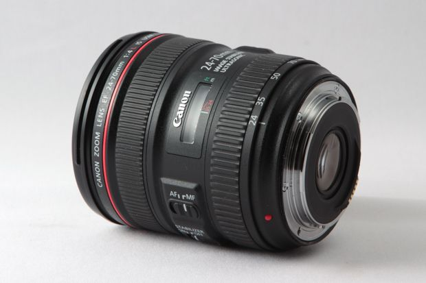 Canon EF L 24-70 mm f/4 IS USM test review