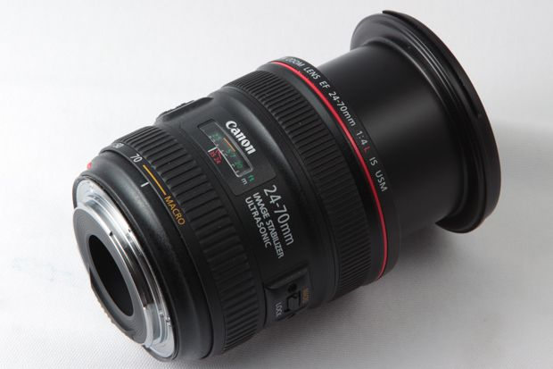 Canon EF L 24-70 mm f/4 IS USM test review le zoom