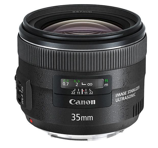 Canon 35 mm EF f/2 USM IS test review