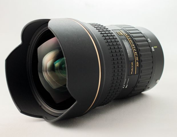 Tokina 16-28 mm f/2,8 AT-X Pro FX test review lentille frontale