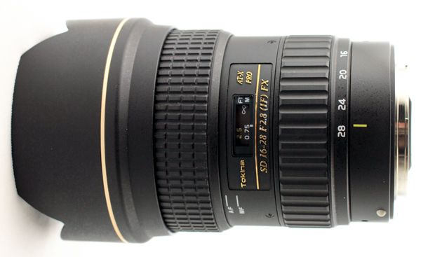 Tokina 16-28 mm f/2,8 AT-X Pro FX test review