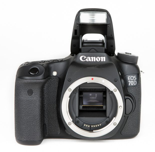 Canon 70D test review flash intégré