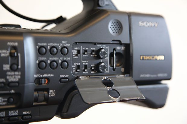 Sony NEX-EA50 test review détails commandes