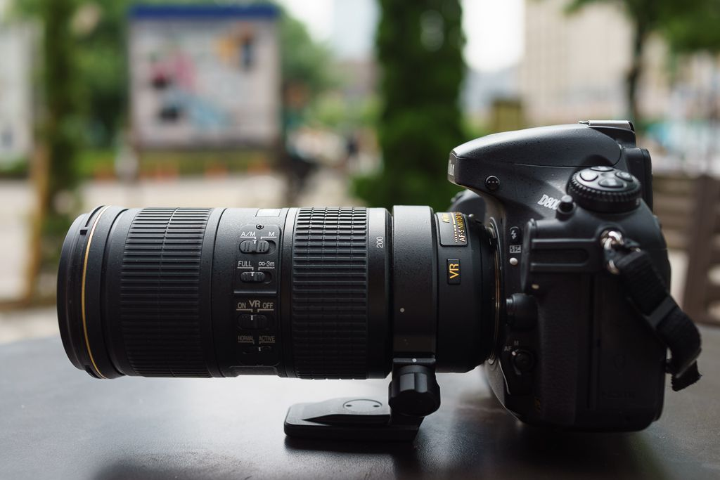 Nikon 70-200 mm f/4 ED VR test review avis