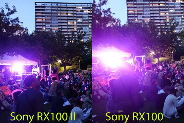 Sony RX100 II test review avis flare optique