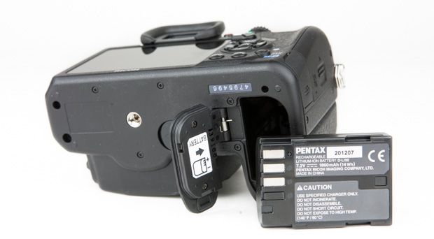 Pentax K-3 test review batterie