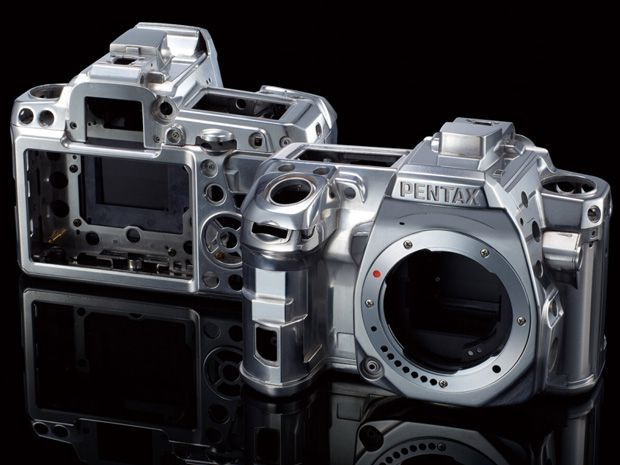 Pentax K-3 test review chassis