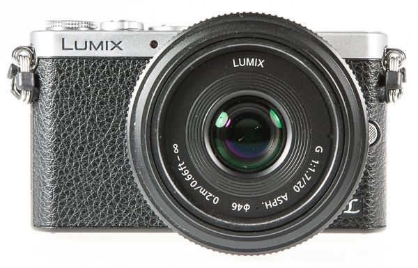 Panasonic Lumix GM1, test review : vue de face