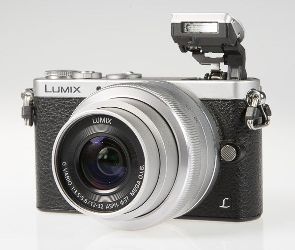 Panasonic Lumix GM1, test review : flash