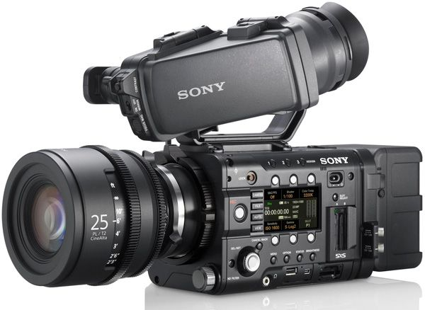 Sony F5 test review