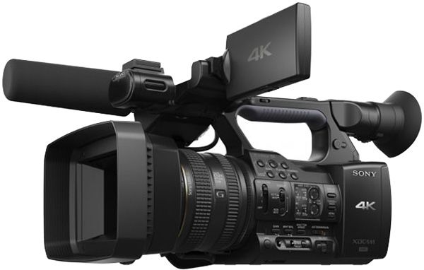 Sony PXW-Z100 test review caméra 4K