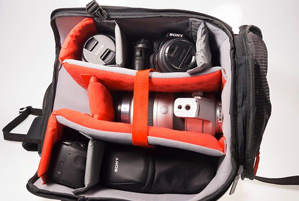 Manfrotto Bagpack 30 chargé