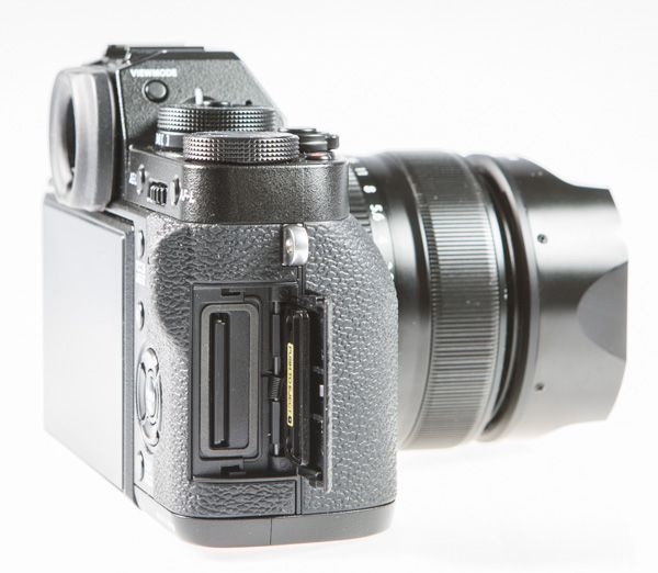 Fujifilm X-T1 test review carte mémoire