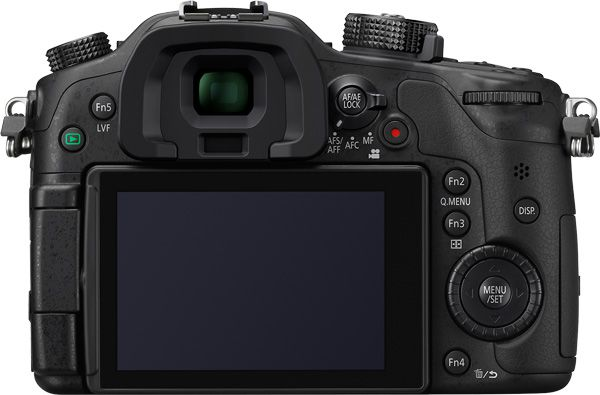 Panasonic GH4 test review vue de dos