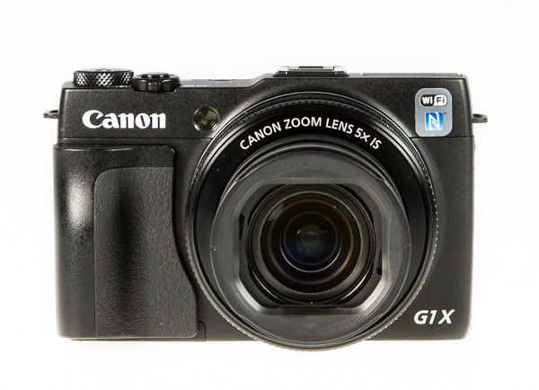 Canon G1X Mark II test review vue de face