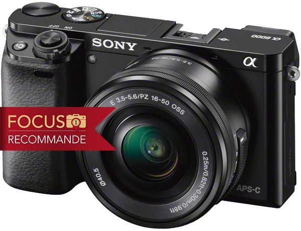 Sony Alpha 6000 test review recommandé