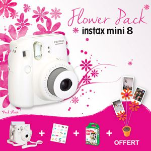Fujifilm Instax Mini 8 flower pack
