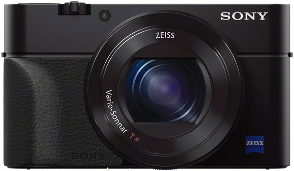 Sony RX100 Mark III et poignée en option