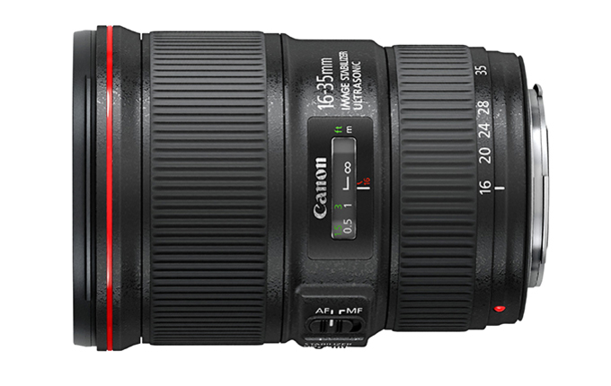 EF 16-35 mm f/4 L IS USM
