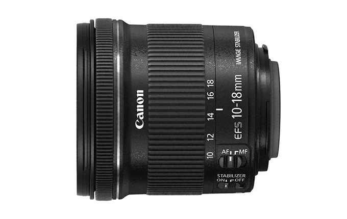 EF-S 10-18 mm f/4,5-5,6 IS STM