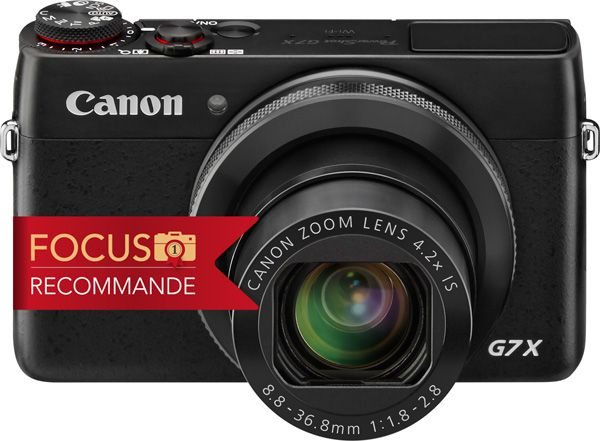 Canon G7X test review recommandé