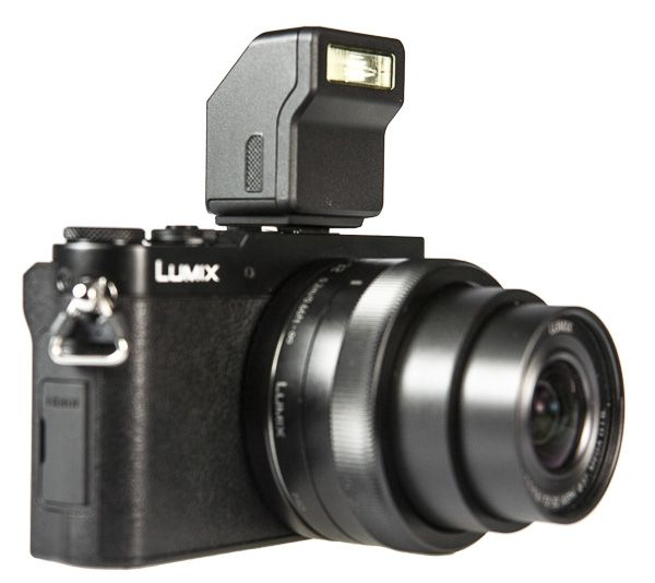 Panasonic Lumix GM5, test review, flash