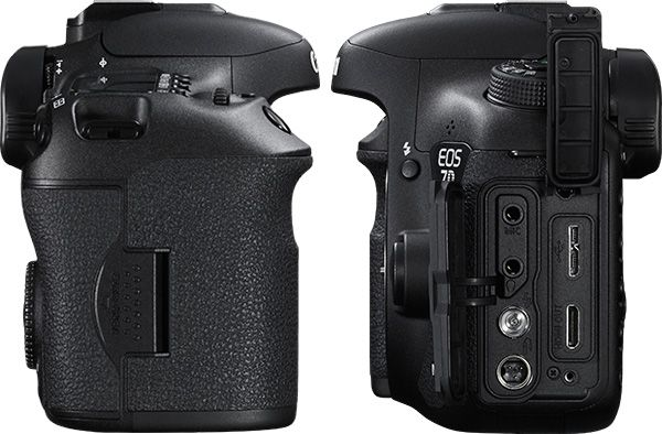 Canon 7D Mark 2 connexions