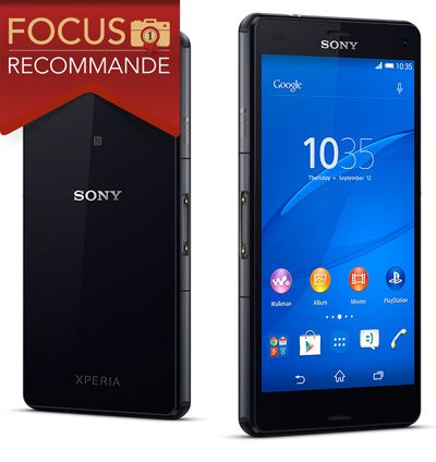 Sony Xperia Z3 Compact, test review, recommandé