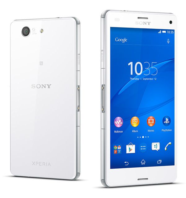 Sony Xperia Z3 Compact, test review, photo
