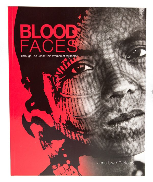 Blood Faces, Jens Uwe Parktiny, lame of the Forest Publishing, cover