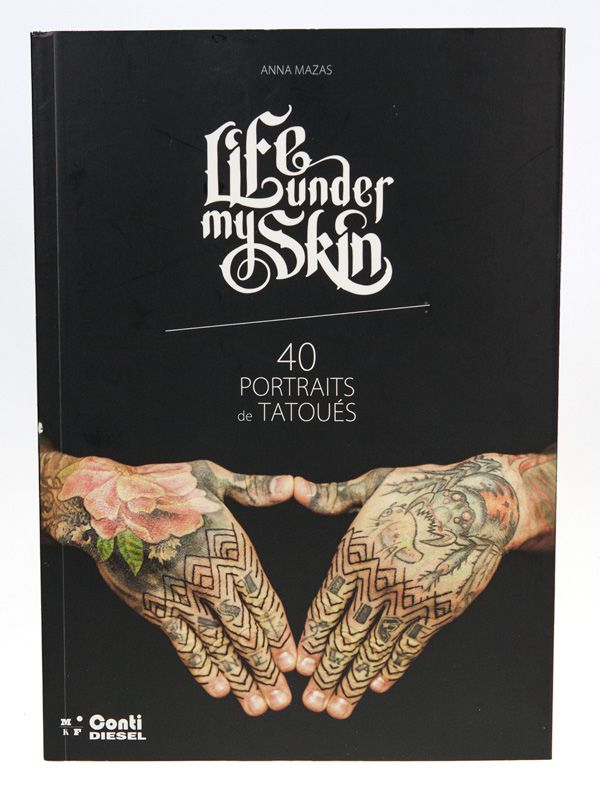 Life under my Skin, Anna Mazas, éditions MkF, cover