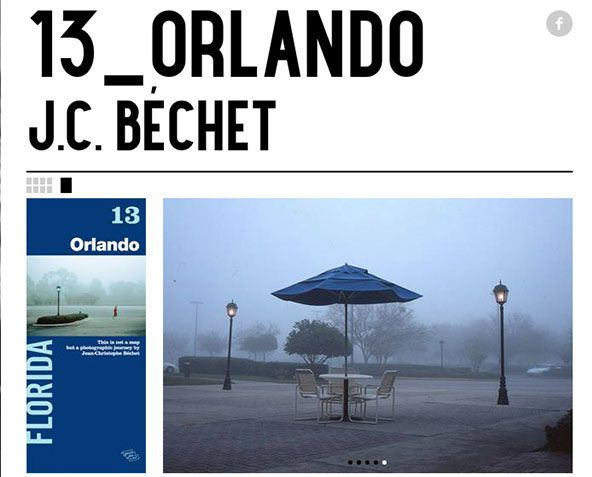 This is not a map 13, Orlando, par Jean-Christophe Béchet, couverture et dépliée