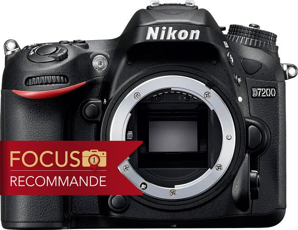 Nikon D7200 test review recommandé