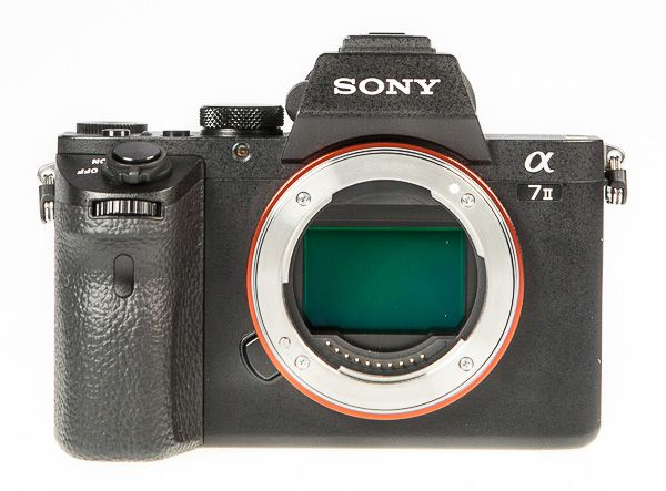 Sony A7 2 (Alpha 7 2) test review vue face capteur