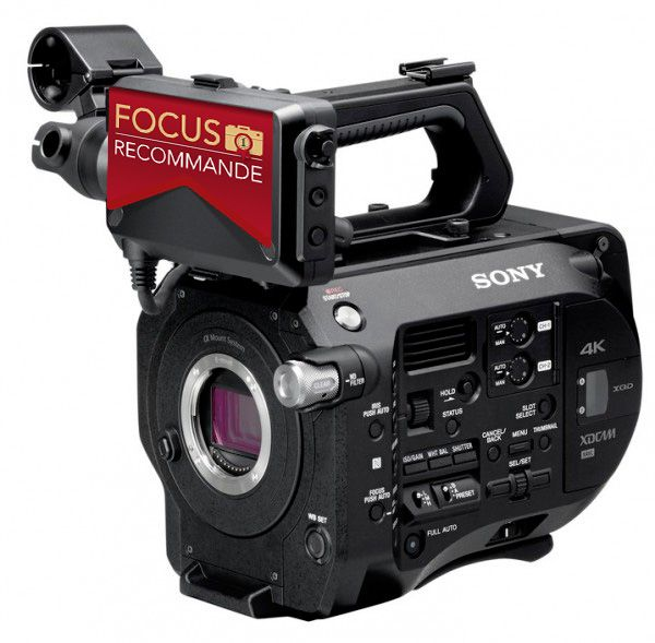 Sony FS7 test review recommandé