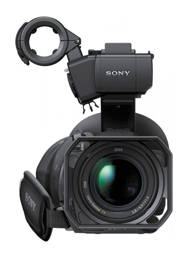 Sony PXW-X70 test review bloc XLR