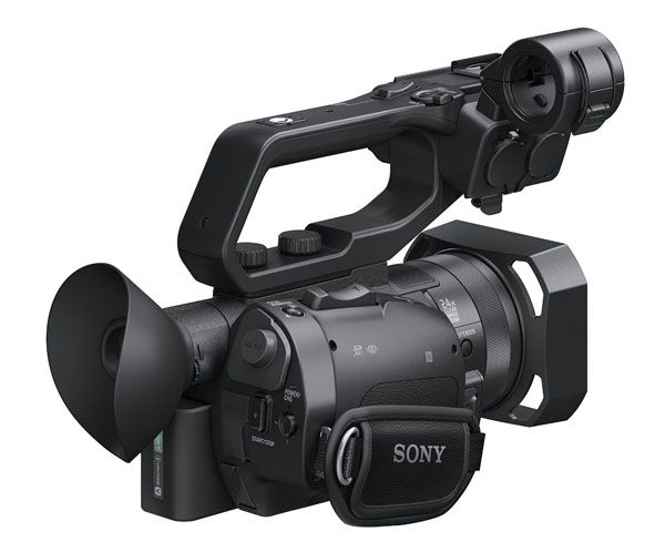 Sony PXW-X70 test review vue de dos