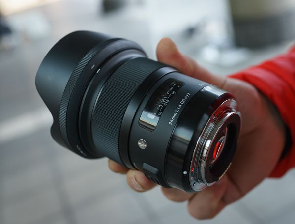 Sigma 24 mm f/1,4 Art